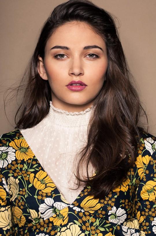 makeup Ewa Bilinska - Photo Cesar Ochoa, miu miu, zara